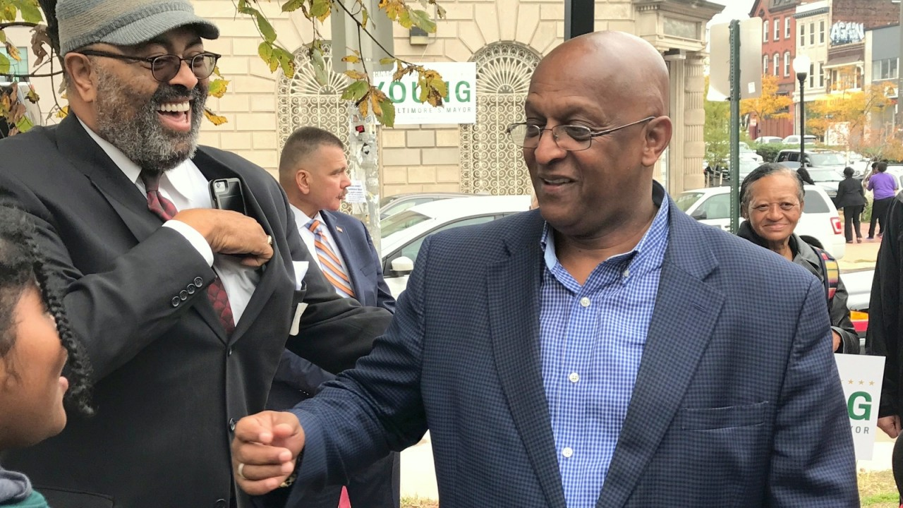 The man who said he wouldn't run for mayor . . . announces | Baltimore Brew