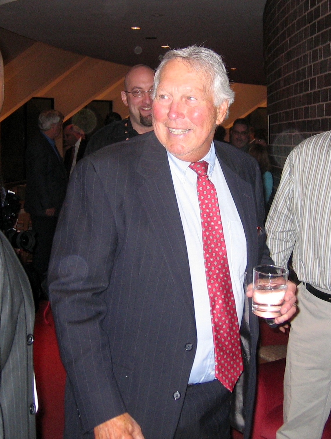 Brooks Robinson, at Meyerhoff tribute evening in Baltimore. (Photo by Dean B. Smith)