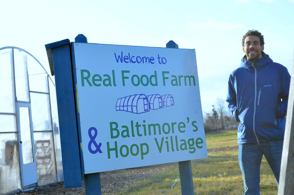 Zach Chissell, projectmanager, Real Food Farms. (Photo by Francine Halvorsen)