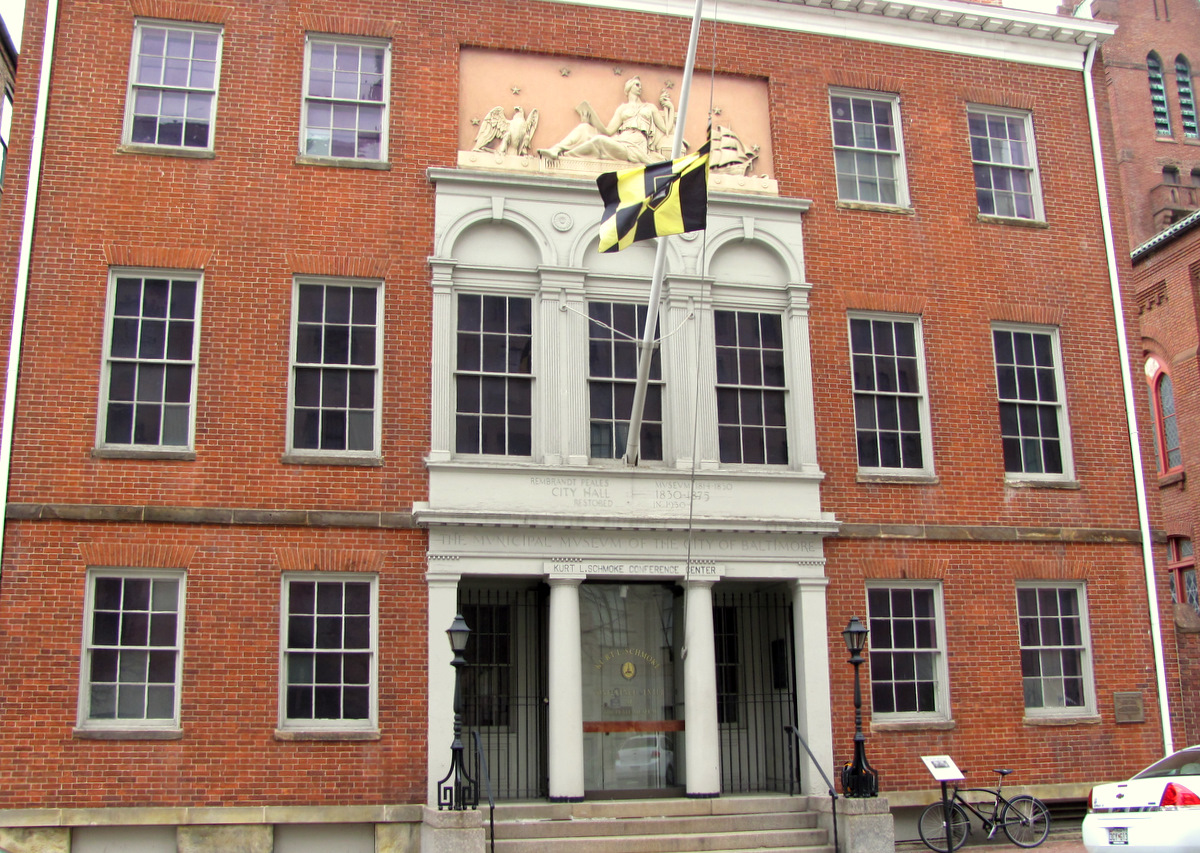 Opened in 1814 and used as Baltimore's first City Hall, the Peale Museum has been vacant for years.