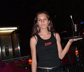 Neela Vaswani, working as a cocktail waitress in New York to pay off her University of Maryland student loans