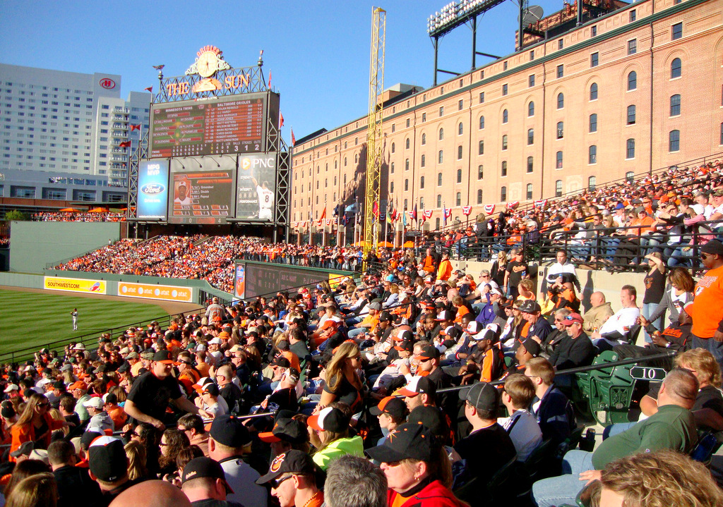 The Orioles win on a spectacular Opening Day, in the most beautiful park in the nation.