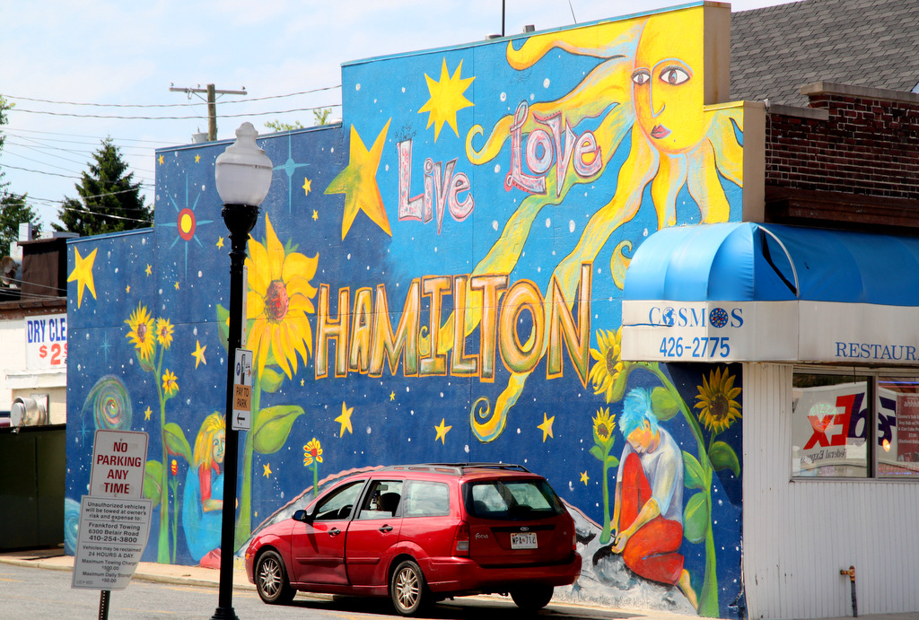 The Hamilton neighborhood, in northeast Baltimore, has attracted young families in recent years.