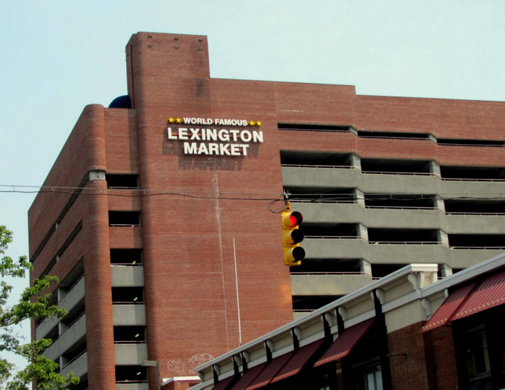 Republic Parking will be paid $211,000 for providing security at the Lexington Market parking garage. (Photo by Mark Reutter)