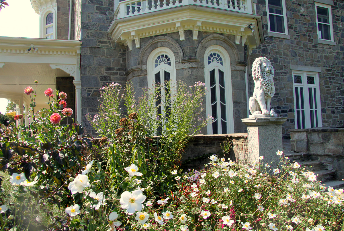 The mansion at Baltimore's Cylburn Arboretum. (Photo by Fern Shen)