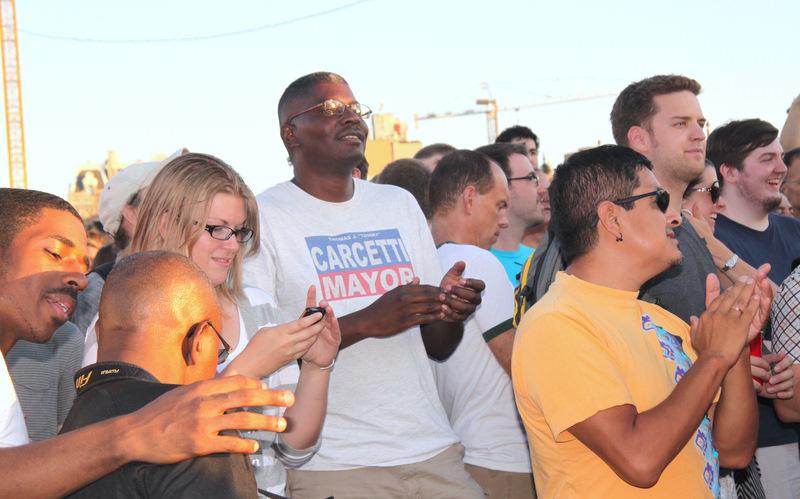 Baltimore Artscape crowd 2011. (Photo by Fern Shen)