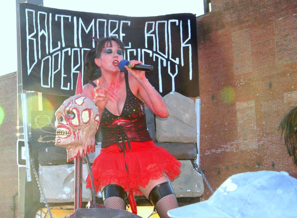 The Baltimore Rock Opera Society describes its nordic-themed, metal-infused performances as