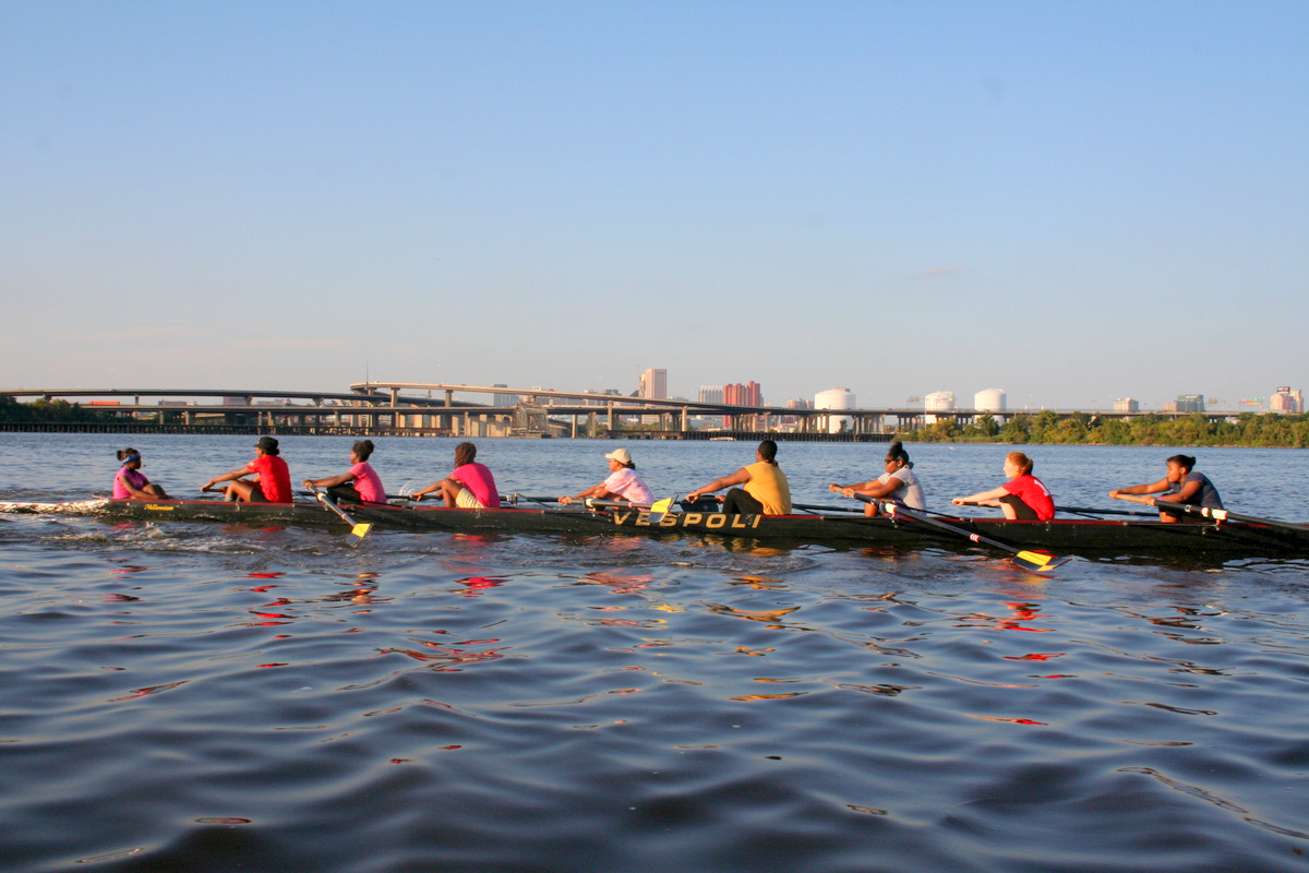 Reach High Baltimore practicing on a beautiful October afternoon. (Photo by Laura Flynn)