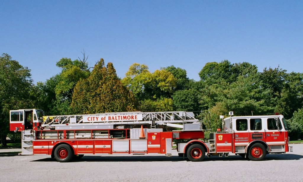 Purchased in 1995, truck 29 has come under criticism by firefighters for its constant breakdowns. (Courtesy of BCFD)