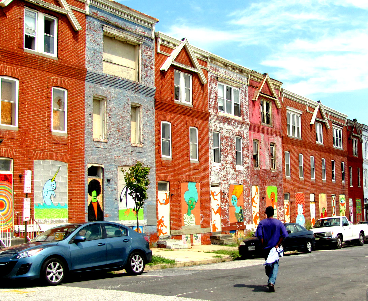 The 400 block of East 20th Street in the Barclay neighborhood. (Photo by Mark Reutter)