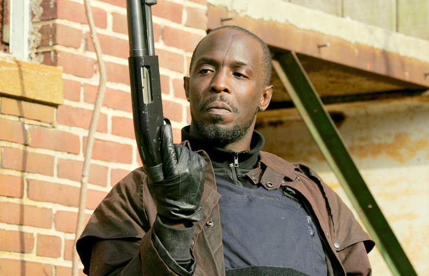 Michael K. Williams as Omar Little in HBO's