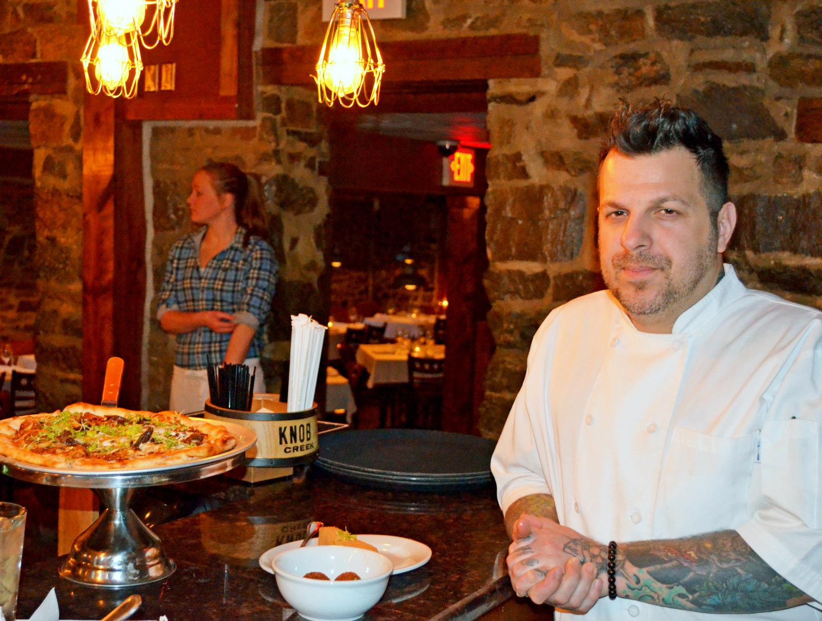 Chef Cyrus Keefer. (Photo by Francine Halvorsen)