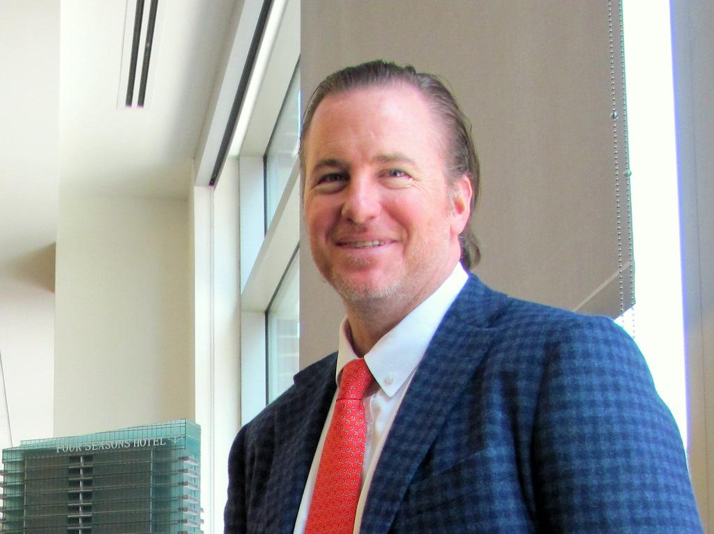 Developer Michael Beatty. (Photo by Mark Reutter)