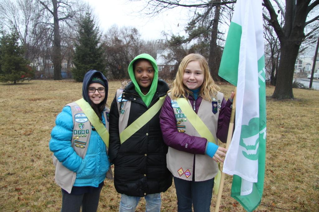 Girl Scouts (Photo by Fern Shen)