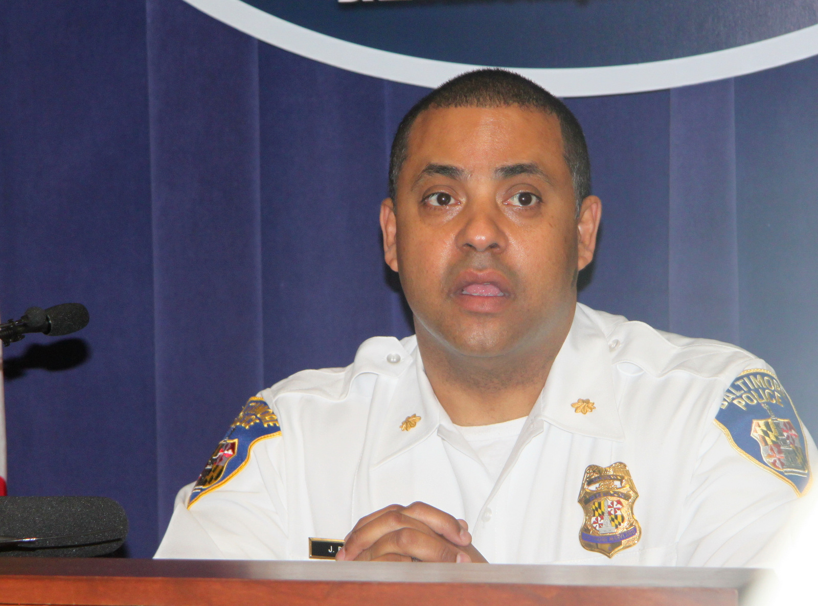 Maj. Johnny Delgado, announcing Baltimore Police Department initiative to encourage reporting of illegal dirt bikes.