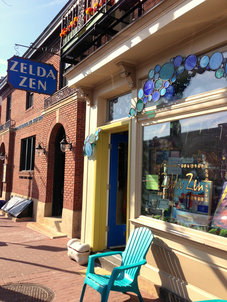 Zelda Zen left Federal Hill in part because of the bar scene and frequent Cross Street closures. (Photo by Diana K. Sugg)