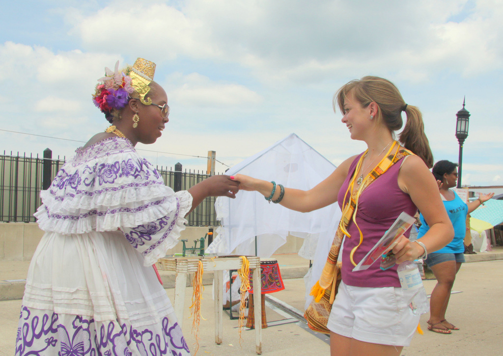 The Artscape vibe - something to try for across the city, all year long? (Photo by Fern Shen)