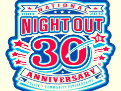 Logo for this year's celebration of neighborhood watches. (Courtesy of National Association of Town Watch)