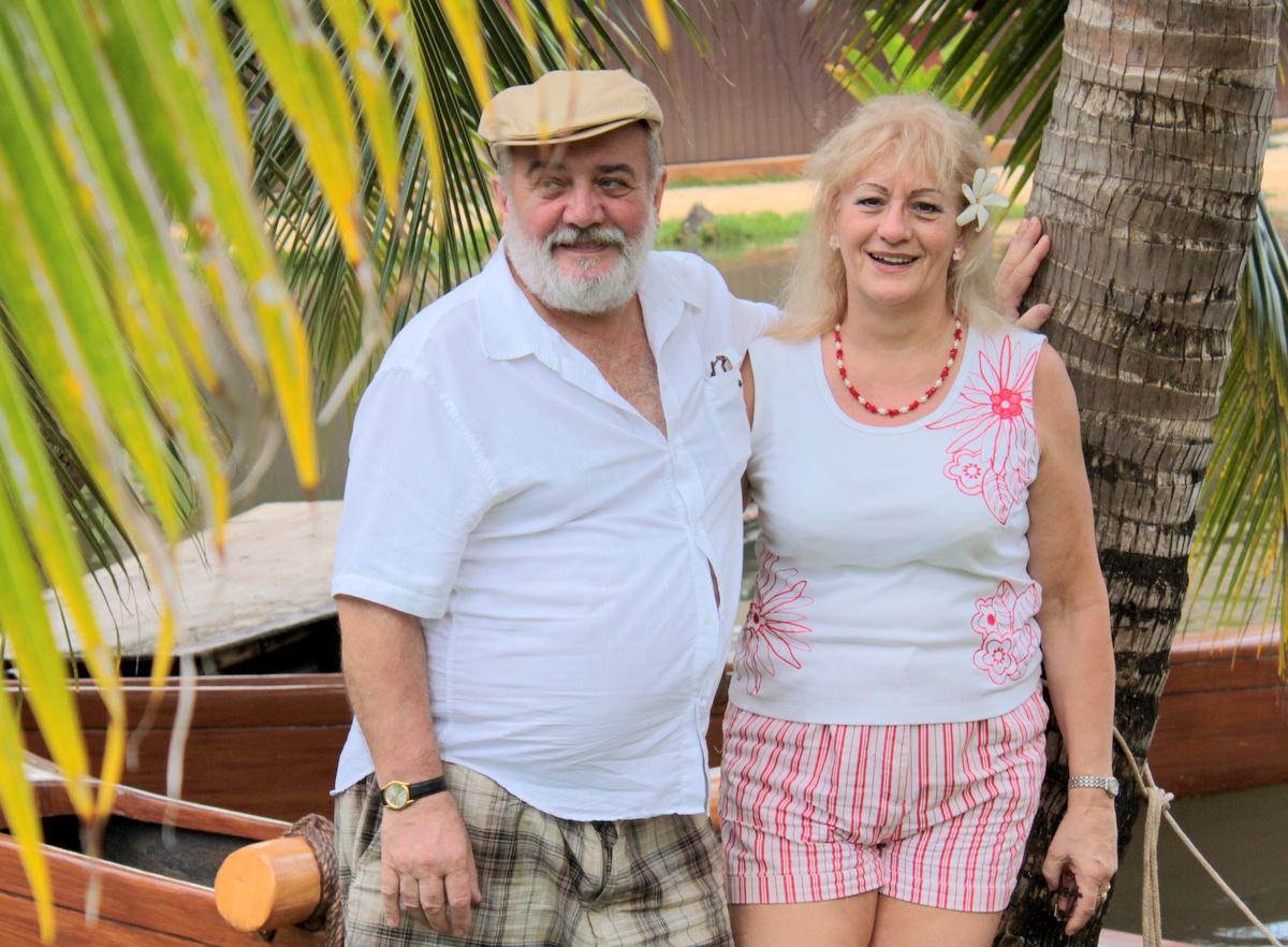 Stefan and Elizabeth Gegala in Oahu in 2011. (Family photo)