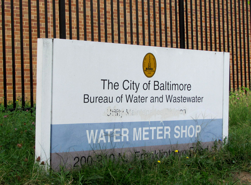 The city services its current crop of 404,000 water meters at a repair shop in West Baltimore. (Photo by Mark Reutter)