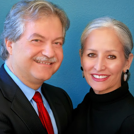 Angelos Angelou and his wife. Esther, who jointly founded the Austin-based consulting firm.