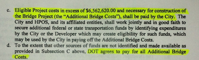 The city has signed an agreement with developer Michael Beatty agreeing to pay for costs above the TIF bond allocation of $6,562,620. (From