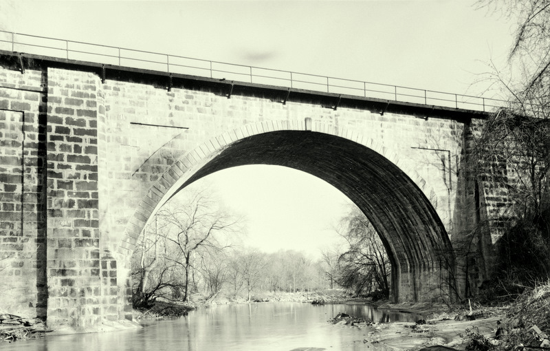 The Carrollton Viaduct is another neglected historic gem in the proposed rail corridor. (Wikimedia)