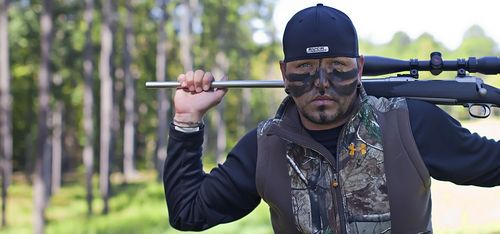Jason Aldean is one of the co-owners and personalities featured on the Buck Commander Protected by Under Armour show n the Outdoor Channel