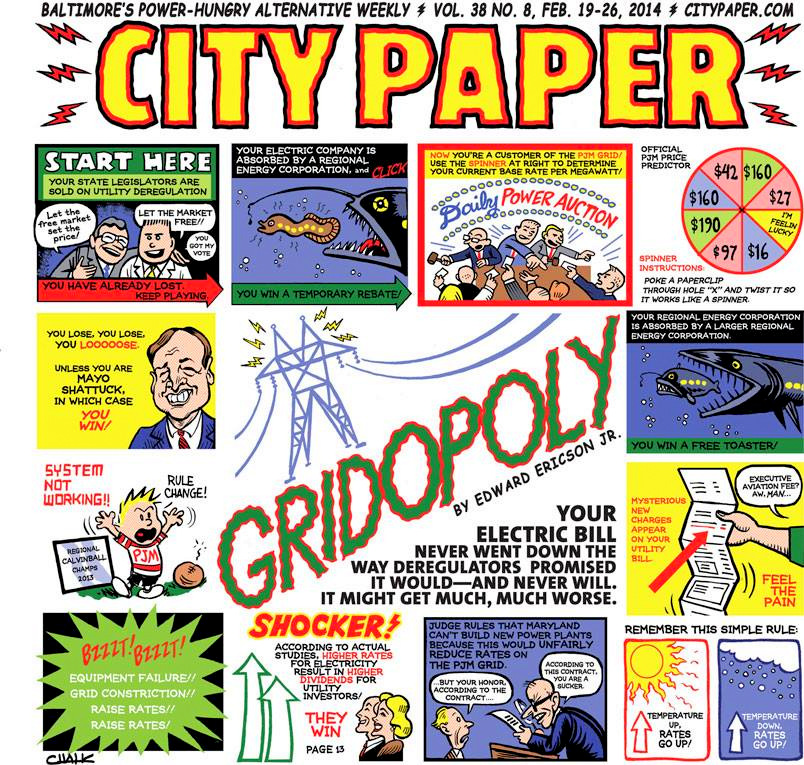 City Paper February 9-26, 2014 issue.