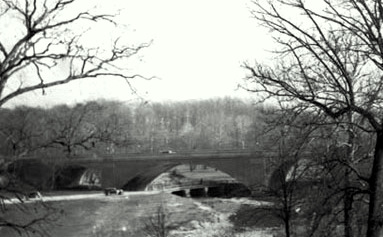 Harford Road Bridge in 1938. (Photo by Federal Highway Administration)