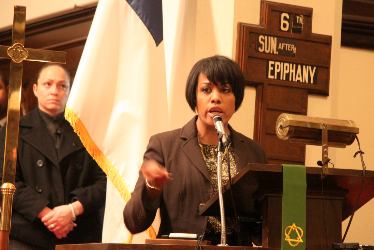 Mayor Stephanie Rawlings-Blake said she is