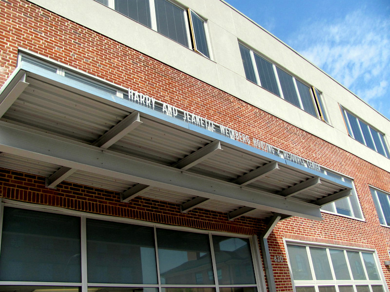 The Weinberg Center, on the Fallsway, is the main shelter for the homeless in Baltimore. (Photo by Mark Reutter)