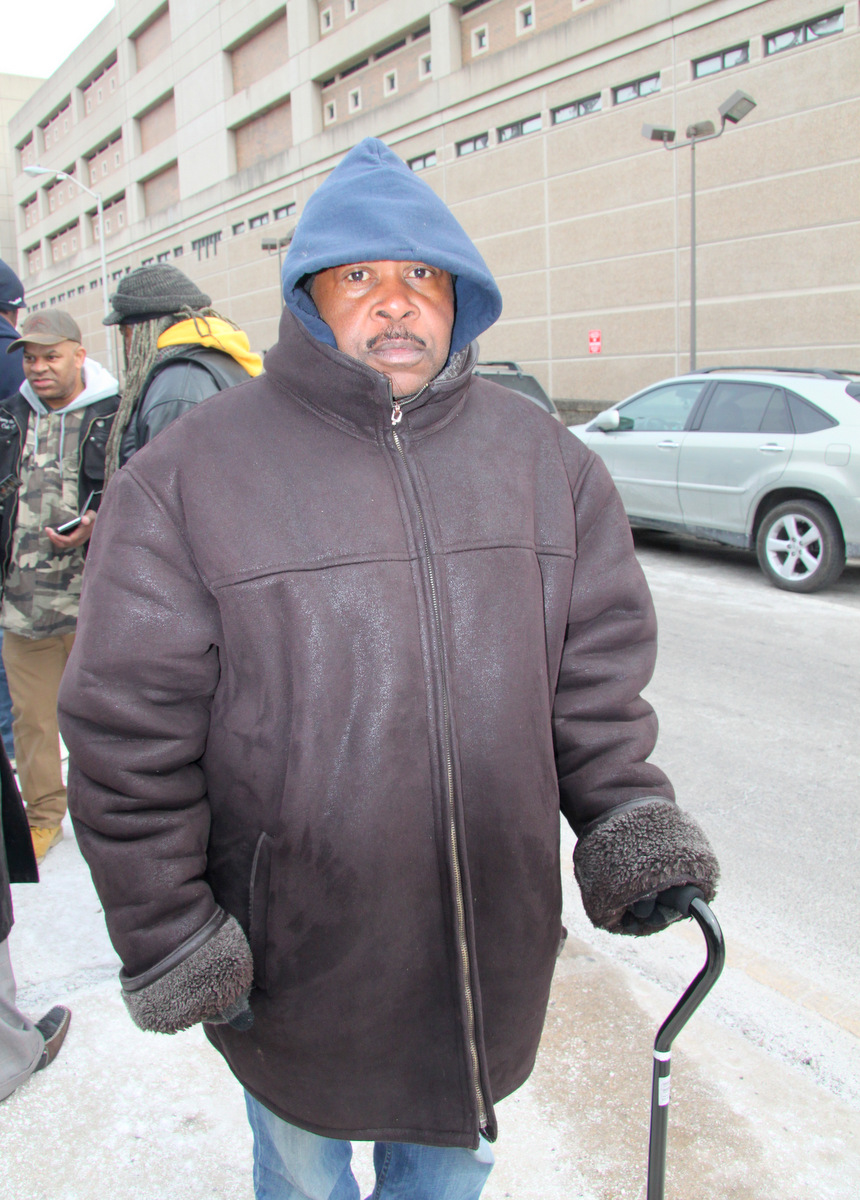 Taft Jackson is hoping to get his possessions, including medical records and family photos, back. (Photo by Fern Shen)