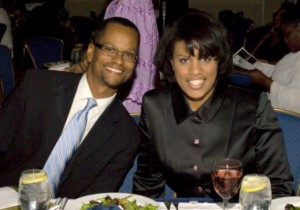 Commercial Group presdient Kevin Johnson with Mayor Stephanie Rawlings-Blake at 2011 Urban League gala. (Photo by Great Baltimore urban League)