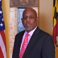 Vernon Marrow's official picture as director of the MBDA Business Center in Baltimore.