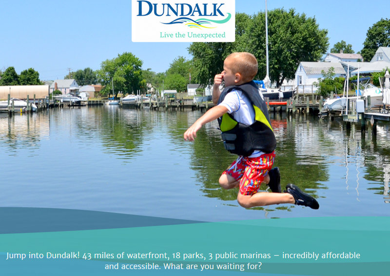 Fun at the Dundalk Marina, an image from unexpecteddundalk.com.