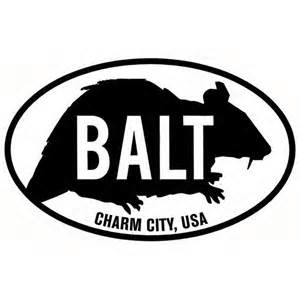 Baltimore has always gotten a lot of mileage out of its rats, including national media coverage of BARF (Baltimore Area Rat Fishing).