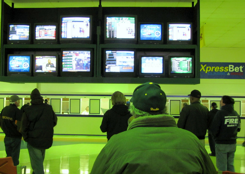 Pimlico allows betters to gamble on races at other racetracks. (Photo by Mark Reutter)