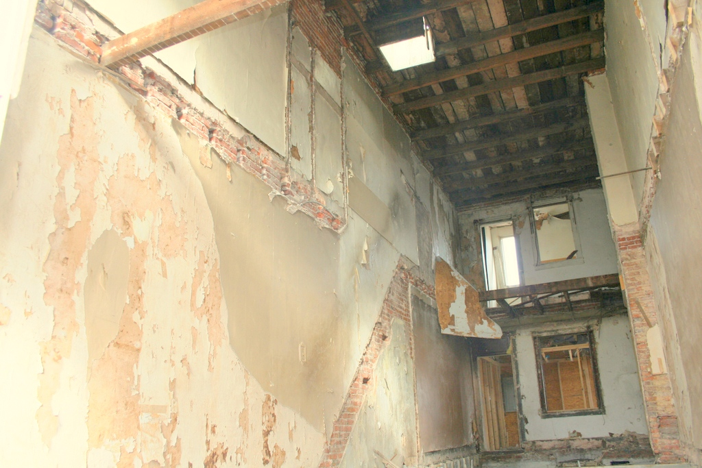 eager street gutted interior