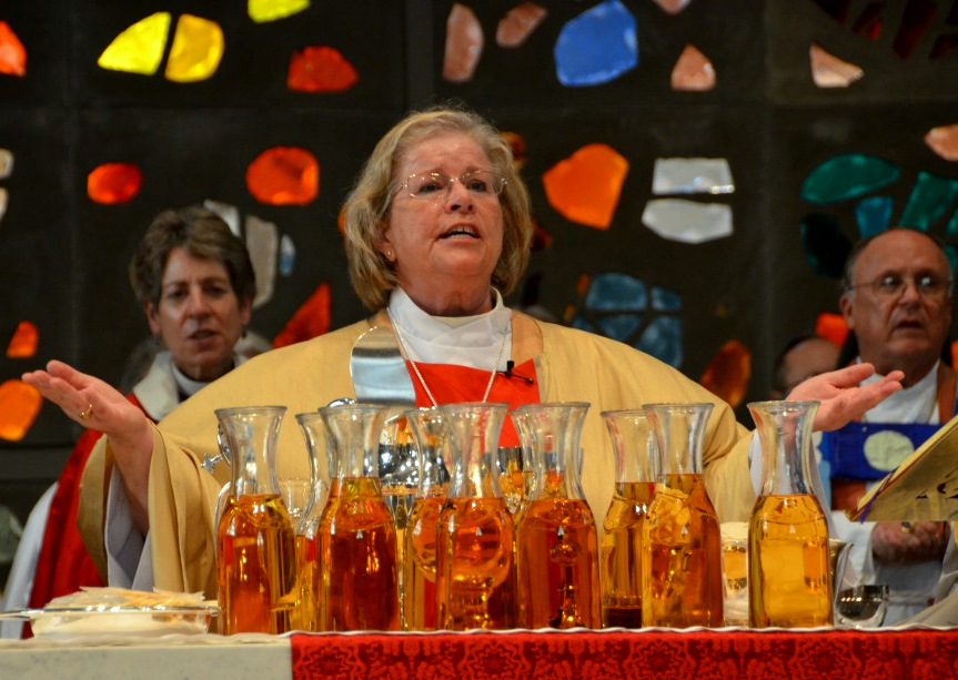 Heather Cook at her ordination as Bishop Suffragan last September. (Episcopal Diocese of Maryland)