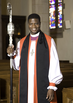 Right Rev. Eugene Taylor Sutton, Bishop of the Maryland Diocese.