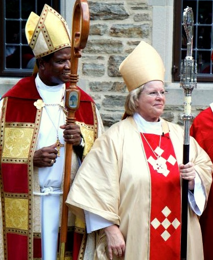Rev. Heather Cook consecrated last September as Bishop Suffragan. (Episcopal Diocese of Maryland)