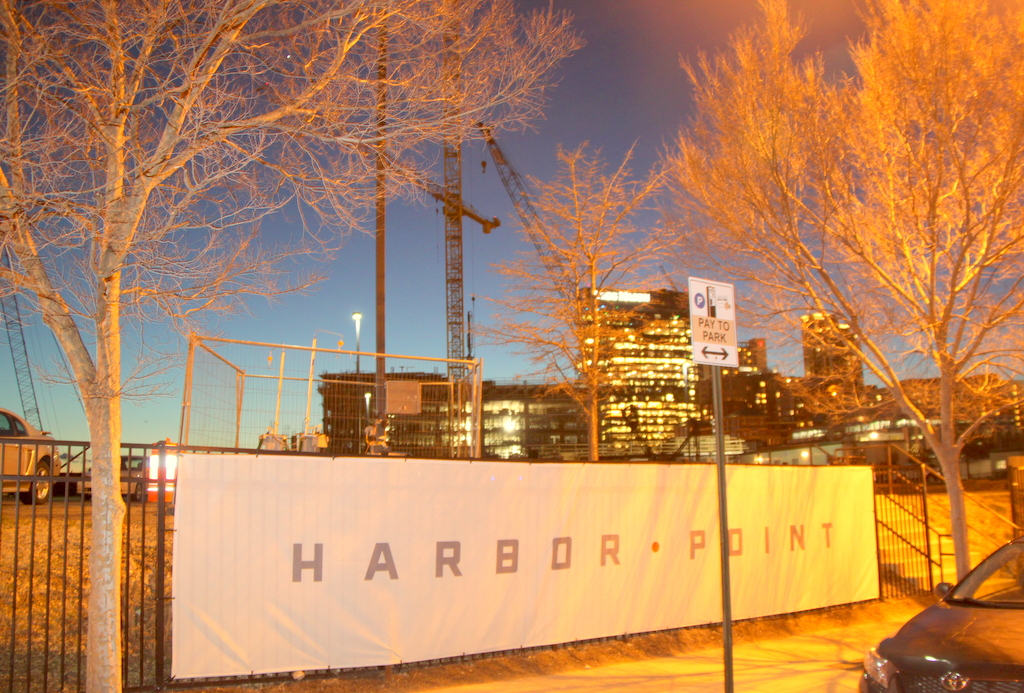 Harbor Point will be bringing more people, and more cars, to Fells Point. (Photo by Fern Shen)