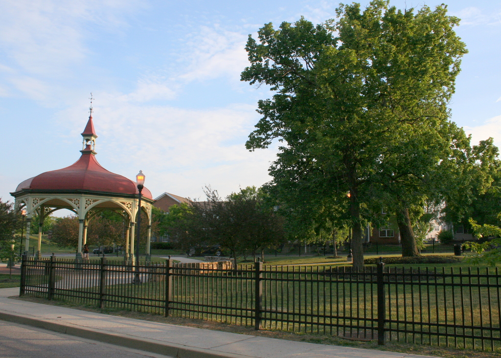 Gazebo at Heritage Crossing (Photo by Danielle Sweeney)