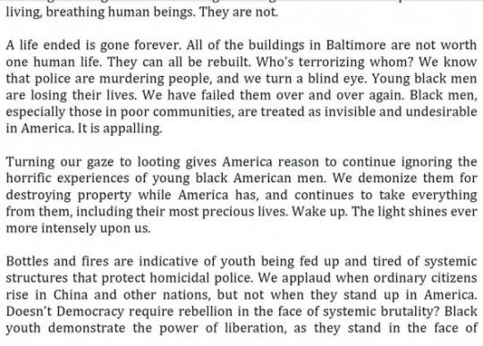 J.C. Faulk letter, Page 2