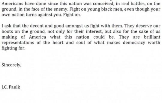 J.C. Faulk letter, Page 4