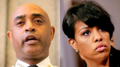 Police Commissioner Batts and Mayor Rawlings-Blake fire back at Baltimore police union president Gene Ryan.