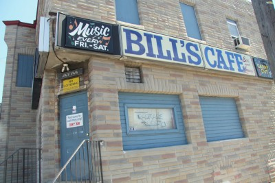 Bill's Cafe on Holabird Avenue. (Photo by Fern Shen)