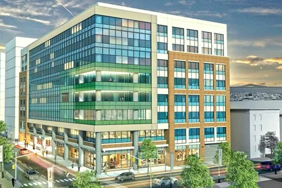 Rendering of completed 873 West Baltimore Street. (Gaudreau, Inc.)