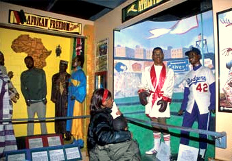 The National Great Blacks in Wax Museum would be given $200,000 in bond funds. (Photo in magazine.usa.com)